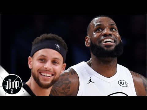 Steph Curry names his top 5 NBA players ever, and LeBron James is on the list | The Jump thumbnail