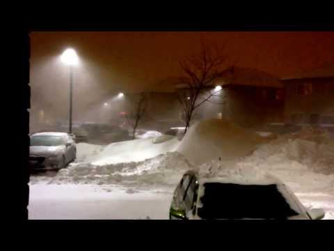 Blizzard 2014 Kitchener, Ontario