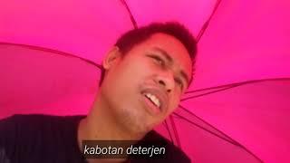 Musim panas dan payung warna pink(amatir vlog)