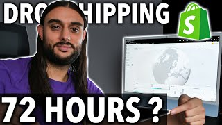 I Tried Shopify Dropsнipping With $1000 (72 HOUR CHALLENGE)