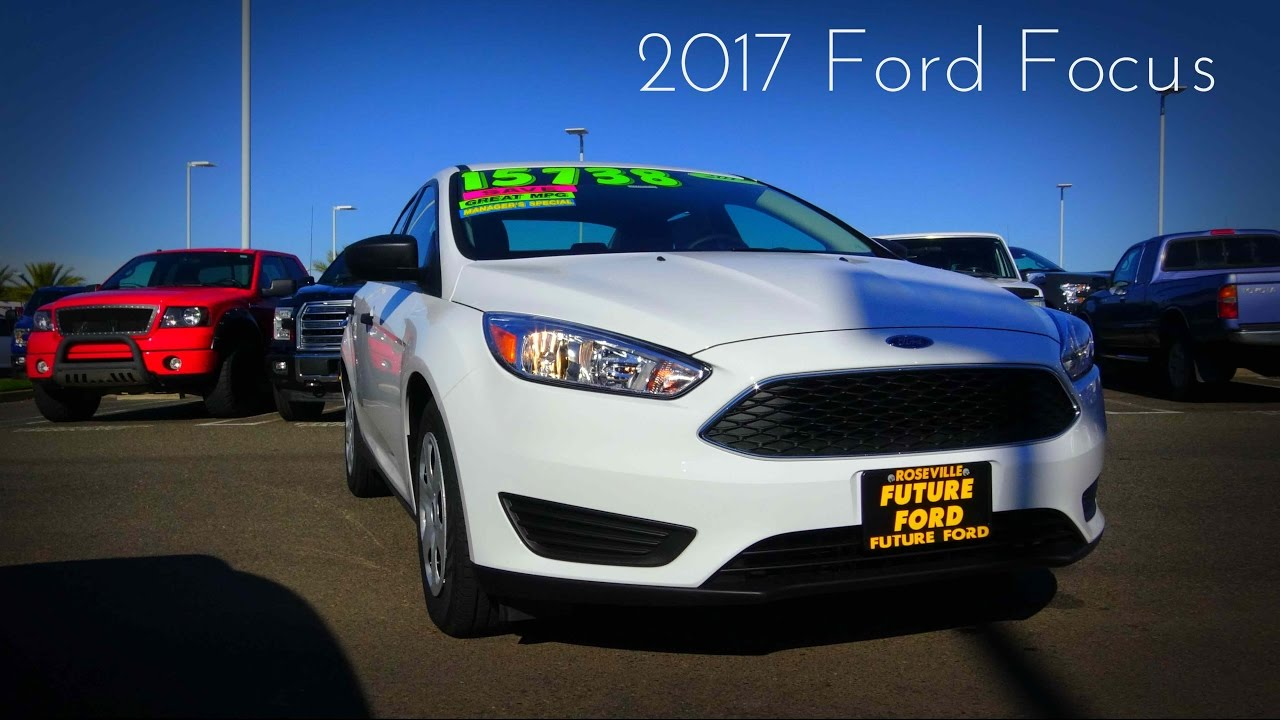 2017 Ford Focus 2 0 L 4 Cylinder Review
