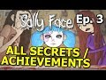 Sally Face EPISODE 3 The Bologna Incident ALL ACHIEVEMENTS SECRETS MISSING PAGES