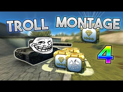Thumbnail: Tanki Online TROLL MONTAGE# 4 (Funny video/moments)