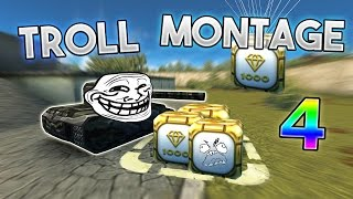 Tanki Online TROLL MONTAGE# 4 (Funny video/moments)(Tanki online, Gold boxes ( not 2016) , Parkour, compose this video DAMN !! 9 EPIC MINS OF TROLL MONTAGE !!! ISN'T GREAT ?! The serie is back the the 4th ..., 2015-12-19T19:01:51.000Z)