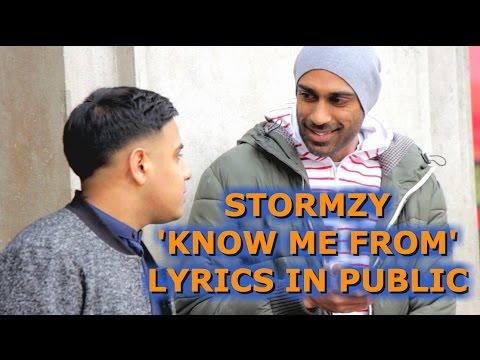 Speaking To Random People In Stormzy 'Know Me From' Lyrics