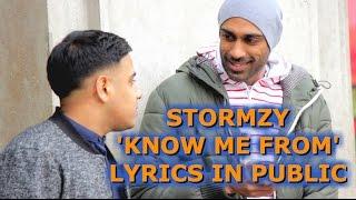 Speaking To Random People In Stormzy