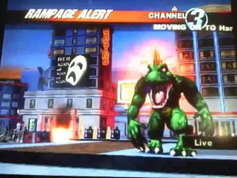 Rampage Total Destruction Walkthrough Gameplay Youtube