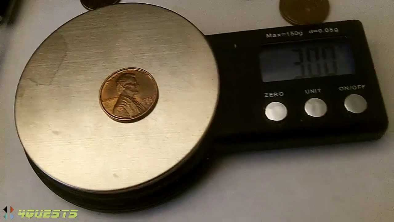 How Much Does a Penny Weigh?