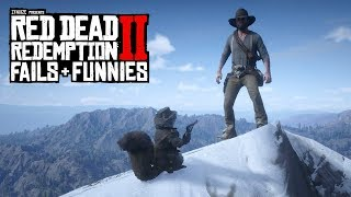 Red Dead Redemption 2 - Fails & Funnies #54 (Arthur Trolls in Public)