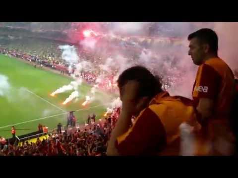 Galatasaray Ziraat Kupa Finali Meşale Şov (Taraftar Kamerası)