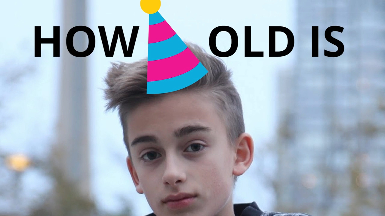How old is Johnny Orlando? 🍰🎈 - YouTube