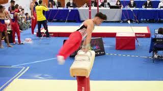 Campeonato Panamericano Juvenil de Gimnasia Artística 2021, primer día de competencia.