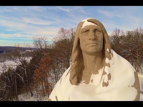 Oregon, IL Blackhawk Statue