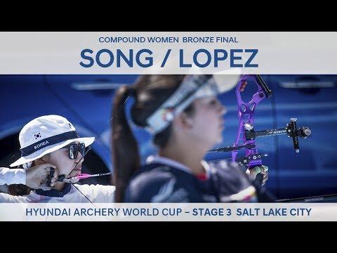 Song Yun Soo v Sara Lopez – Compound Women Bronze Final | Salt Lake City 2017