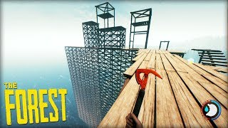 THE SKY BASE PROJECT! (The Forest)