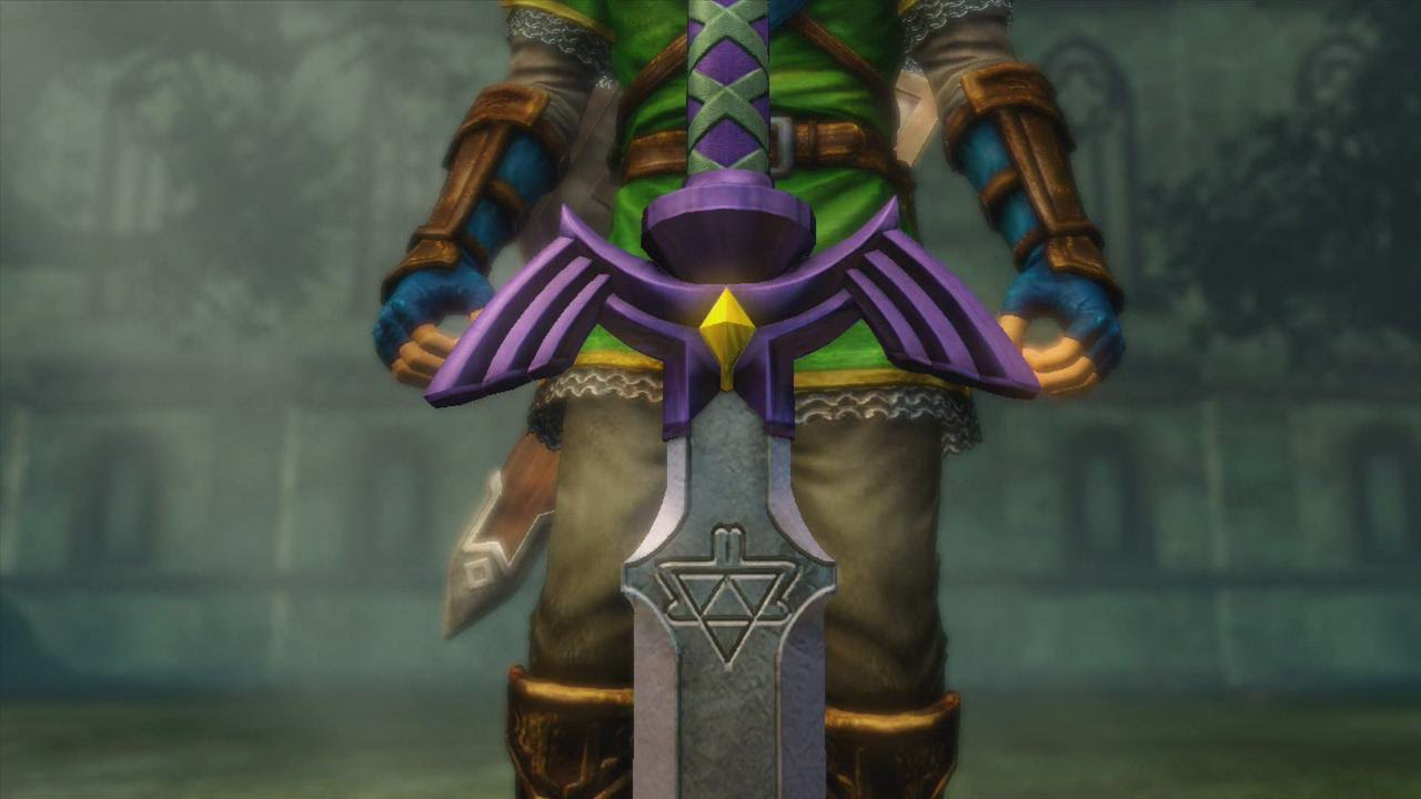 Link Get The Master Sword Hyrule Warriors Youtube