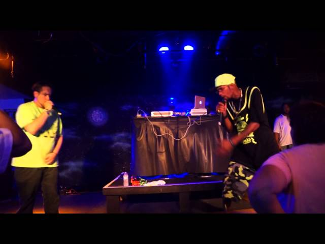 MMMF opens for Lil Wyte and Too Short @ Rock House Cafe