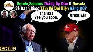 NVRADIO P1: Bernie Sanders Thắng Áp Đảo Ở Nevada, Liệu Sẽ Đại Diện Đảng Dân Chủ Hay Không?