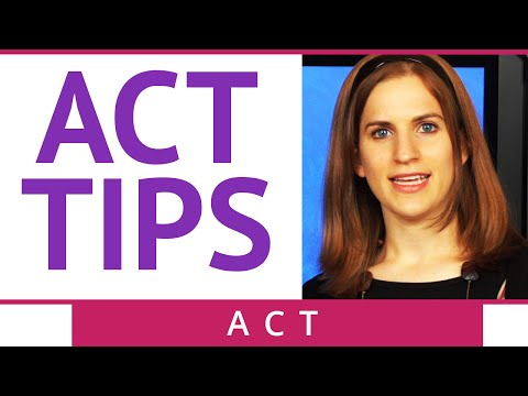 ACT Test Taking Strategies - ACT Tips - Brightstorm ACT Prep