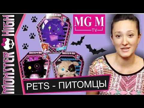 видео: Питомцы Школы Монстров / monster high pets обзор на русском ★mgm★