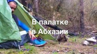 Закупился едой на неделю и рванул в Абхазию жить в палатке