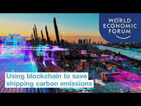 How can blockchain save shipping carbon emissions?