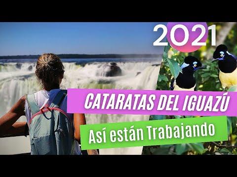 """Cataratas del Iguazú 2021 """"TE CONTAMOS TODO"""" 😉👌 como están trabajando HOY en Cataratas"""