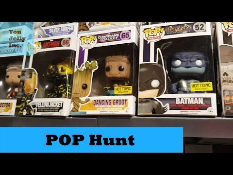 Funko Pop Hunt: Tanforan Mall, Invader Zim, Peanuts, Star Wars etc
