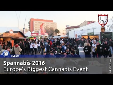 Spannabis Barcelona 2016 - Europe's Biggest Cannabis Event - Smokers Guide TV Spain