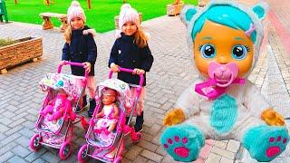 Куклы Беби Бон Настя и СБОРНИК видео для детей Ксюша и Арина Как Мама / Magic Twins