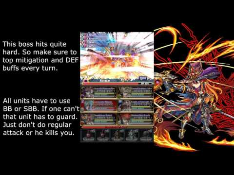 Brave Frontier Global - Global Exclusive RC6 Raid X5 The Black Bargain (vs Kielazar)