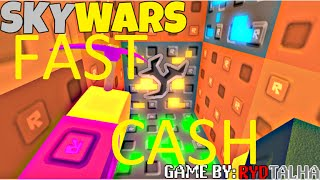 How to get coins fast in Roblox Skywars - 1000 coins per round!