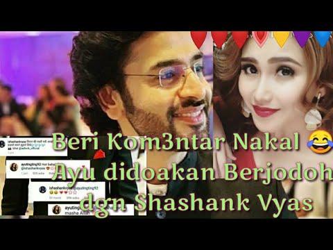 Komentar Nakal Ayu Ting Ting di Postingan Shashank Vyas Berbuah Perjodohan oleh Netter: Gosip Artis