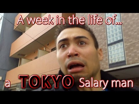 A week in the life of a Tokyo salary man【字幕付き】