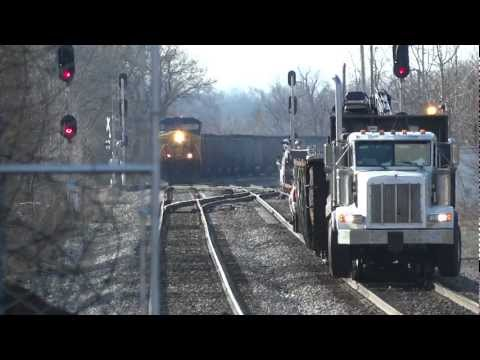 Heavy Coal Train in West Virginia