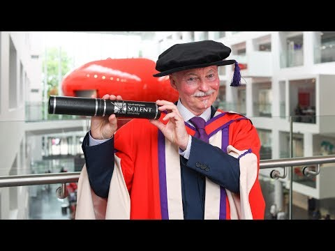 Artist, choreographer and director, Clive Hicks-Jenkins, awarded honorary degree
