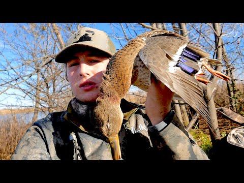 Dawn To Dusk Kansas Duck Hunt   With Duck Gun Chronicles