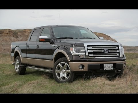 2013 Ford F-150 Review - YouTube