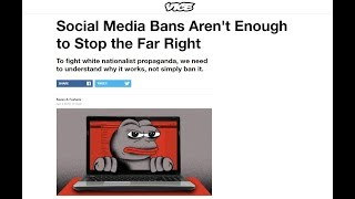 Vice Wants To Ban Right Wing Speech.