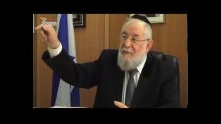 הרב ישראל מאיר לאו מספר על הילד שהיה בשואה ועל האמונה שנשארה