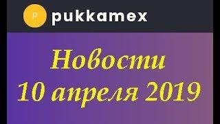 PUKKAMEX  Новости 10 апреля 2019 Раздача PUX токенов по реферальной программе завершена