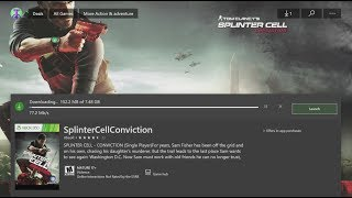 How to Download: Splinter Cell Conviction game for FREE in Xbox