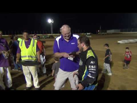 Trail-Way Speedway King of the 358's presentation 8-19-16