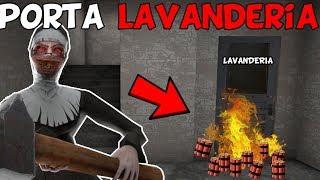 EXPLODI PORTA LAVANDERIA E CRIANÇA DE MÃO AZUL MORREU!! -   Evil Nun - 1.5.1 - (NOVA ATUALIZAÇÃO)