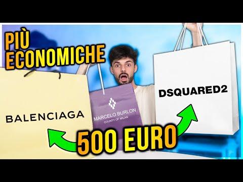 HO COMPRATO LE COSE PIÙ ECONOMICHE DA BALENCIAGA, DSQUARED2 E MARCELO BURLON!