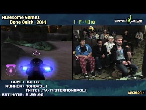AGDQ 2014: Halo 2 Legendary Speedrun by MisterMonopoli (2:02:16)