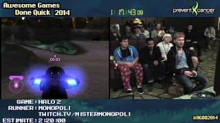 AGDQ 2014: Halo 2 Legendary Speedrun by MisterMonopoli (2:02:16)