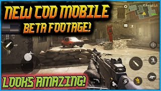 NEW HD Call of Duty MOBILE Beta Gameplay LOOKS AMAZING!! Super Excited for Release!!