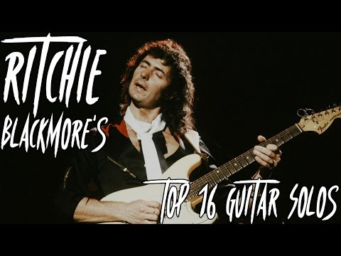 Ritchie Blackmore's Top 16 Guitar Solos