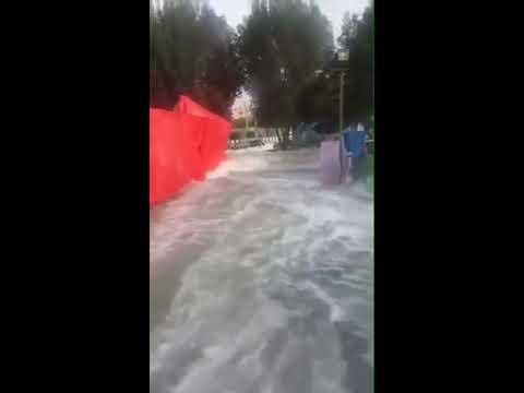 Tsunami in Iran 2017